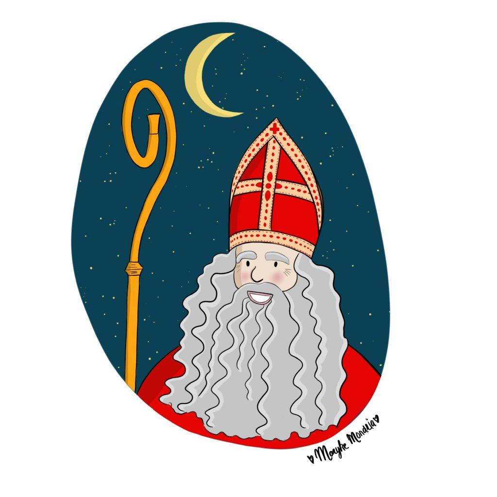 Illustratie MetMaryke Sinterklaas